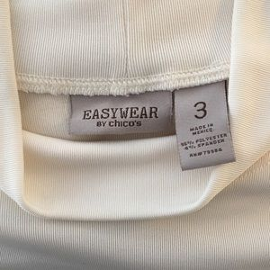 Chico's Tops - Easywear by Chico's cream Color Stretch Top